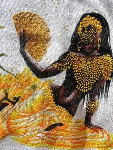 Diosa Oxum Madre Arquetipos Menstruales Terapia y Empoderamiento Menstrual
