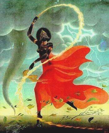 Diosa Iansá Doncella Guerrera Arquetipos Menstruales Terapia y Empoderamiento Menstrual